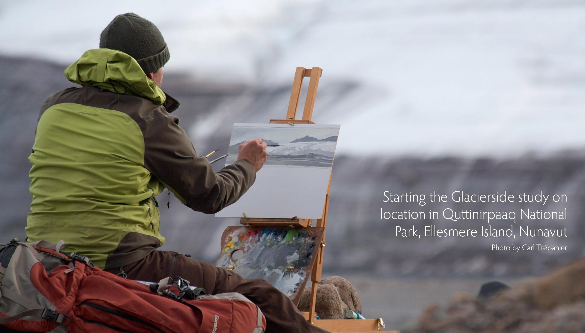 Trepanier,PaintingGlacierside